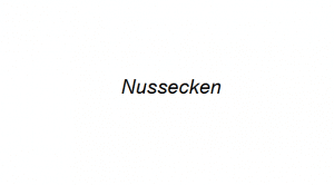 Nussecken